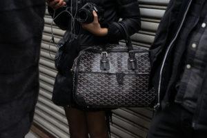Черная сумка Goyard