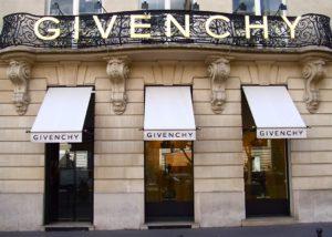Магазин Givenchy в Париже