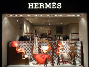Магазин Hermes в Женеве