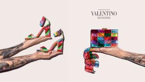 Рекламный слайд Valentino
