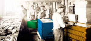 Создание сундуков на фабрике Goyard
