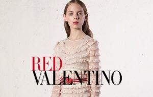 Рекламный слайд Valentino RED