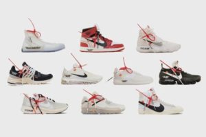 Коллаборация Nike и Off-White The Ten