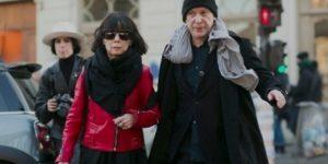 Рей Кавакубо с мужем Адрианом Джоффи