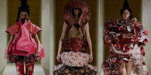 Авангардный стиль в коллекции от CDG