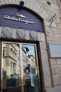 Вход в музей Salvatore Ferragamo во Флоренции