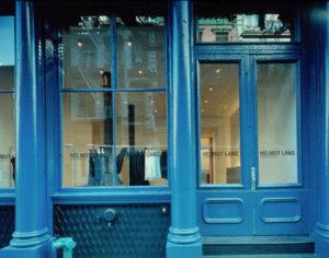 Магазин Helmut Lang в Нью-Йорке