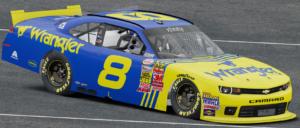 Wrangler спонсор NASCAR