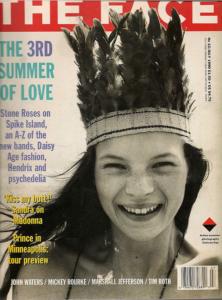 Кейт Мосс на обложке журнала The Face