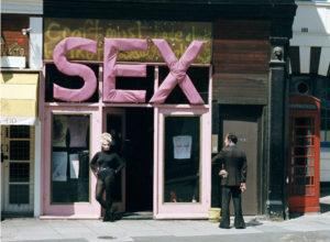 Магазин SEX от Vivienne Westwood в Лондоне