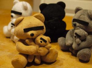 Плюшевые медведи от Undercover