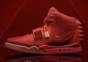 Коллаборация Kanye West и Nike Air Yeezy 2 red october