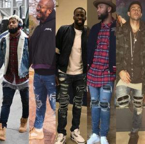 Звезды запада в джинсах от AMIRI