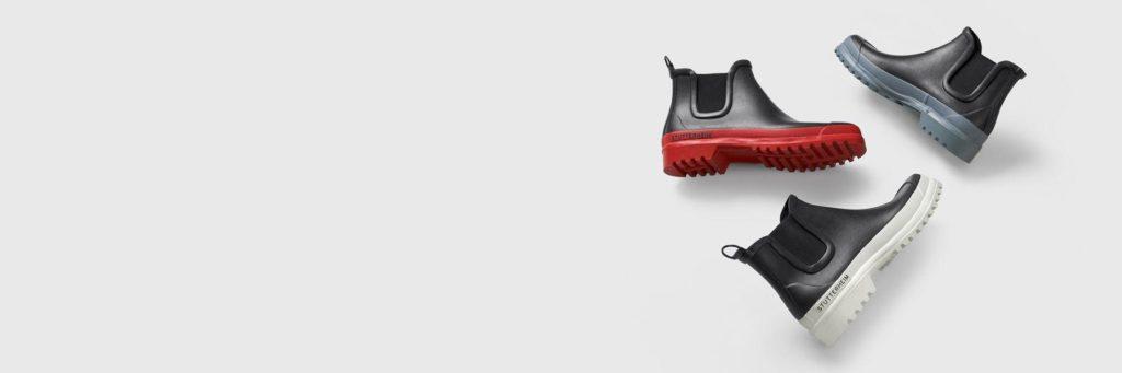 Резиновая обувь челси от бренда Stutterheim