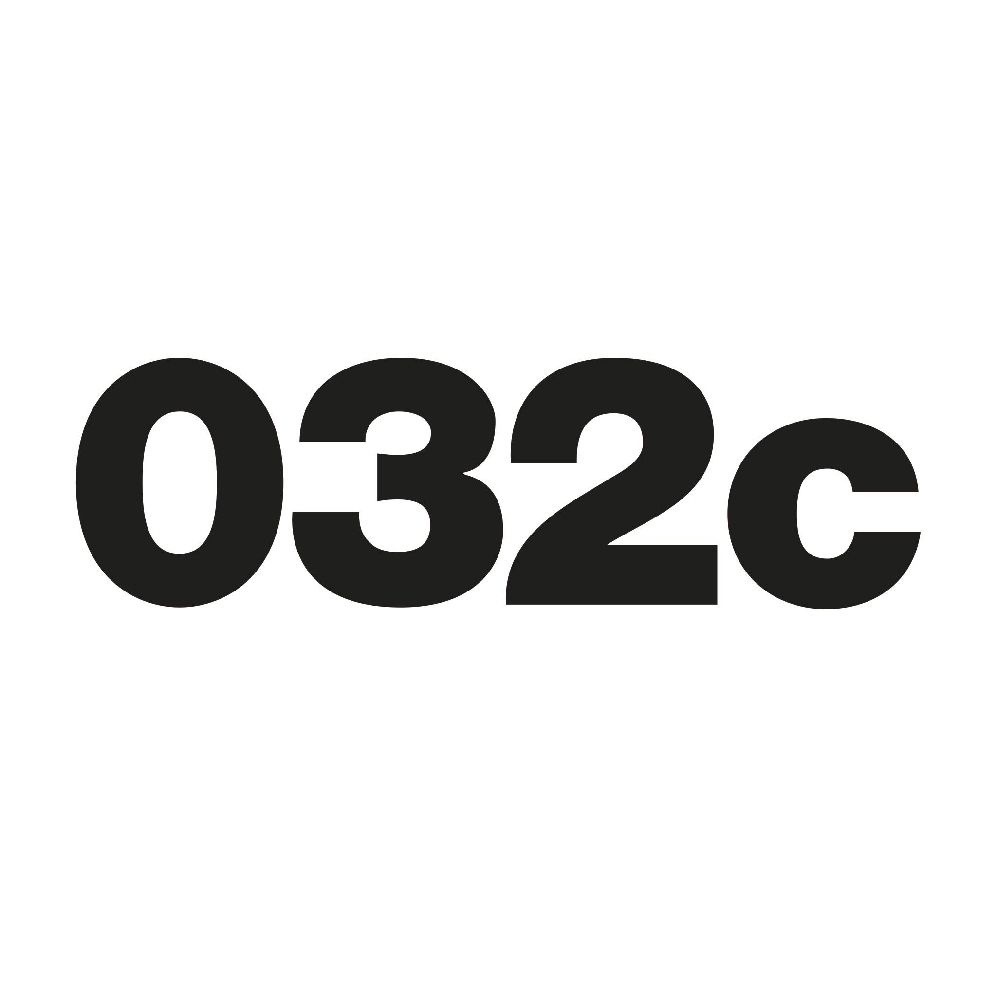 История бренда 032c